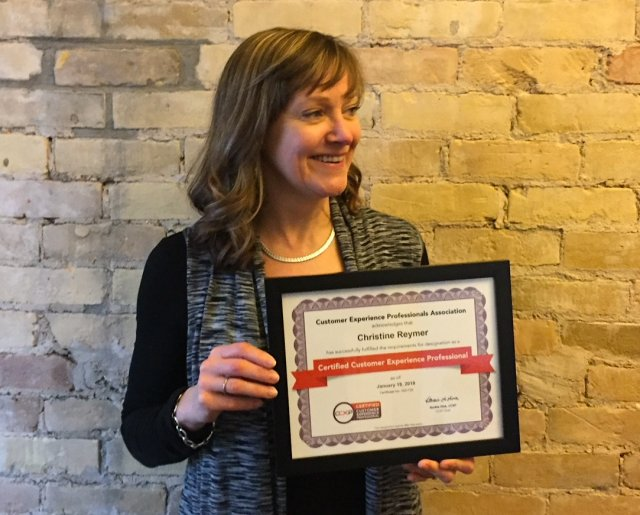 "Image for ""Christine Reymer Receives CCXP Certification"""
